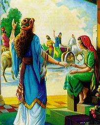 Femmes de la bible la petite servante de la femme de Naaman Elisée