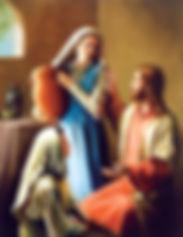 Les femmes de la bible Marthe et Marie Béthanie
