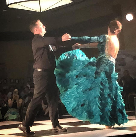 Brazos Ballroom Dance;Laura Wagner;Rusty Surett;Dancing for the Health of It;Waltz