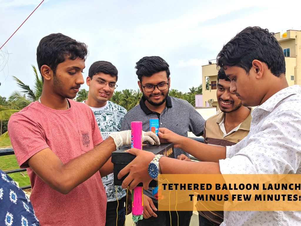 Tethered Balloon launch preparations