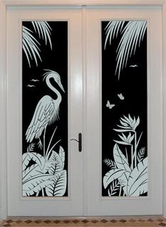 Heron and Bird of Paradise.jpg