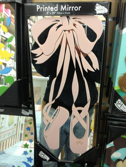 Ballet Shoes Decal