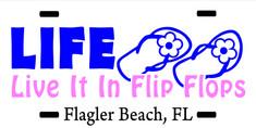 LIFE IN FLIP FLOPS VANITY PLATE.jpg