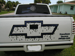 CHEVY BOWTIE DECAL