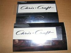 Chris Craft logo decal