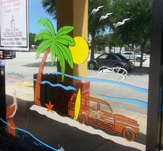 Sammy J's Summertime Beach Scene Flagler
