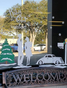 Christmas Window Decals