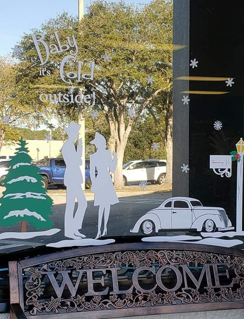 Christmas Window Decals