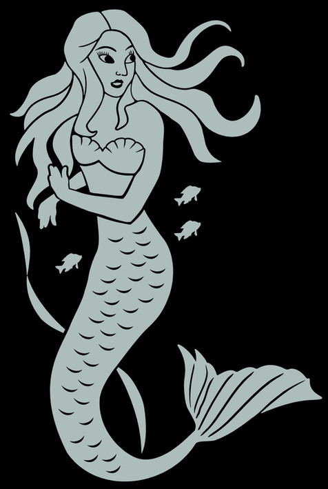 8X12 inches Mermaid $6.00.jpg