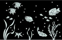 Fish Scene on Bathroom Mirror.jpg