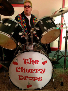 The Cherry Drops - Drumhead Logo - Outta