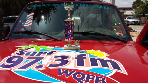 Surf 97.3 FM Truck Logo