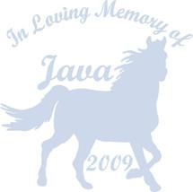 MEMORY HORSE A