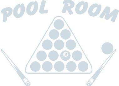 Pool Room Decal