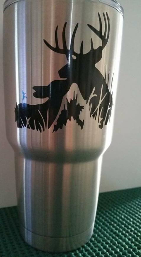Custom Yeti Cup Decals Deer.jpg