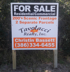 FOR SALE REALTY SIGN