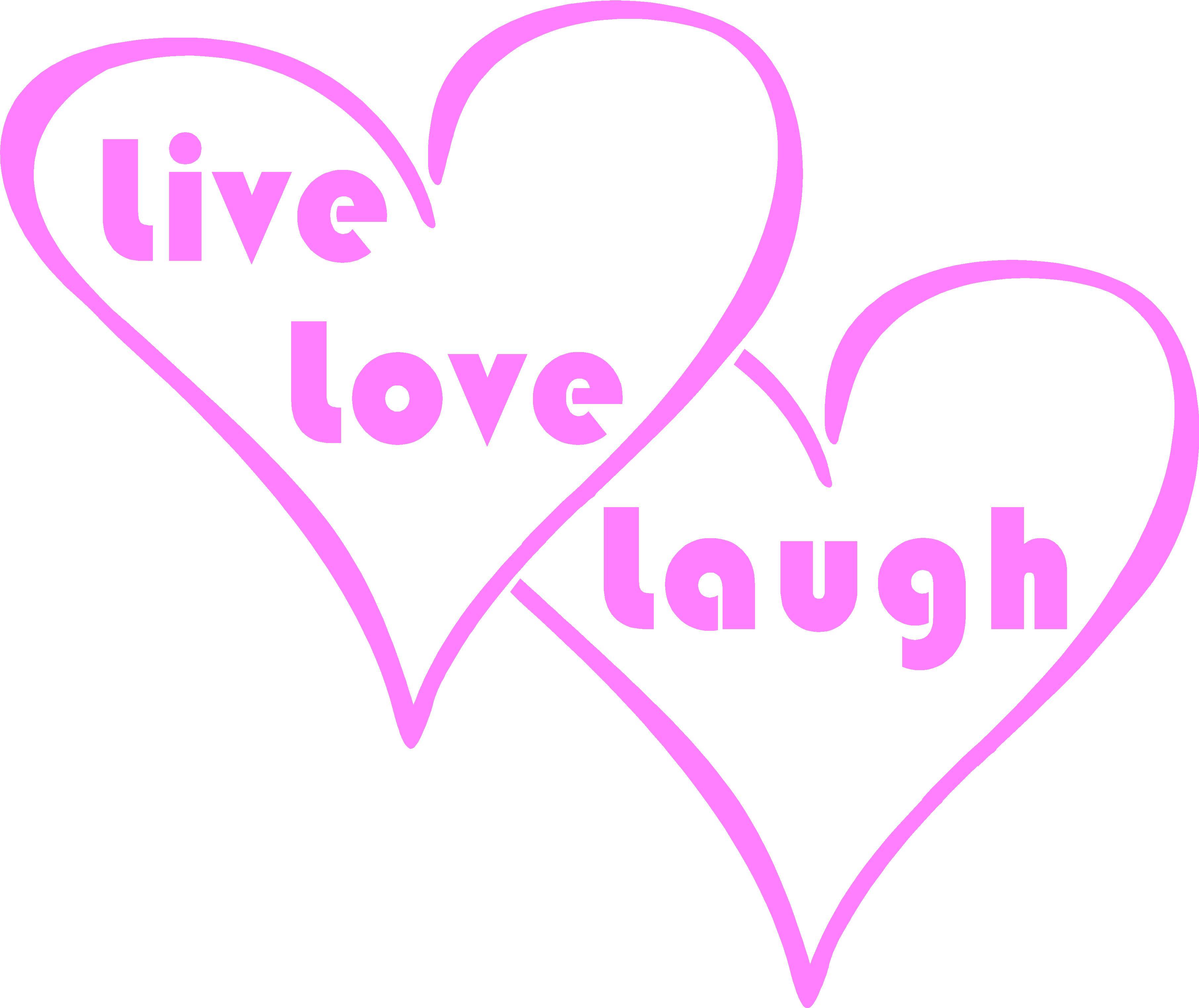 6x5 inches LIve Love Laugh $3.00