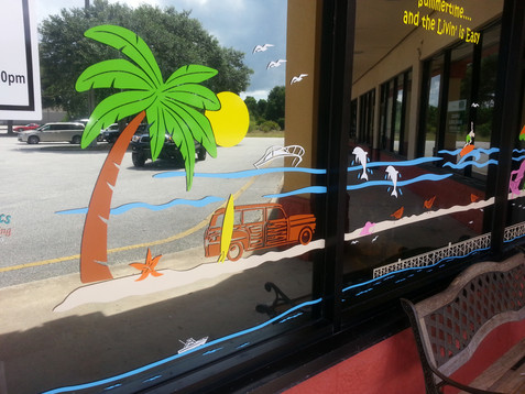 Sammy J's Summertime Beach Scene Flagler
