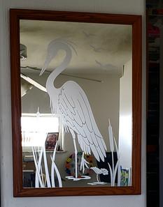 Heron and Cattails Mirror.jpg