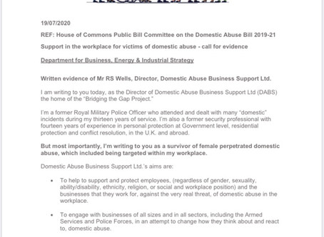 Workplace domestic abuse