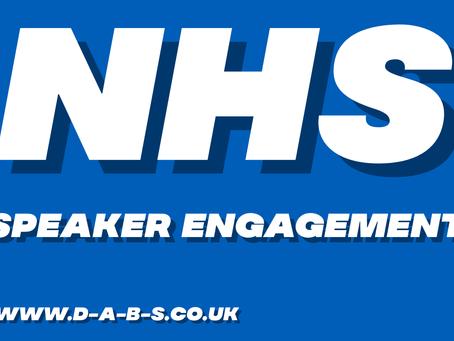 NHS SPEAKER ENGAGEMENT