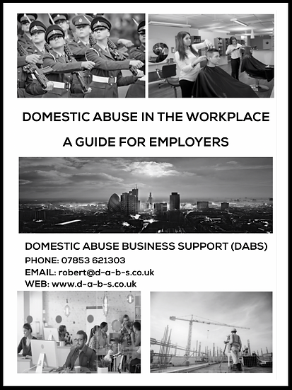 DOMESTIC ABUSE WORKPLACE COVER WITH BORD