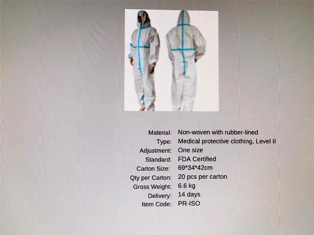 Protective Clothing Level II
