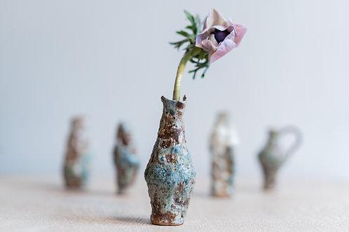 Burried Burnt Bud Vase (Set of 5)