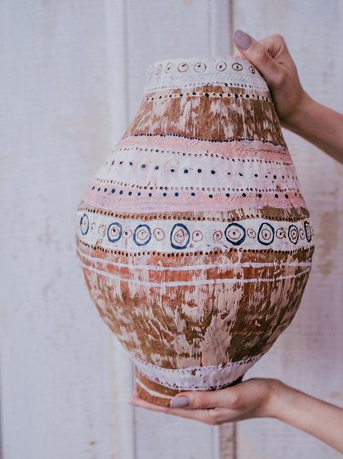 Large Pink Vase