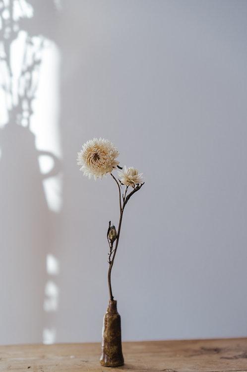 Burnt Earth Bud Mini-Vase