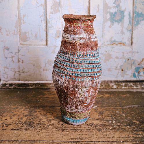 Large Blue-Tint Vase