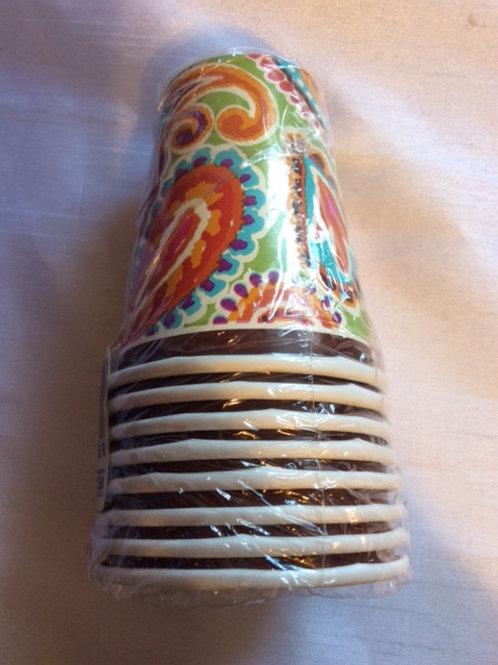 8pcs Printed Cups