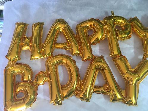 Happy Birthday 16inch balloon