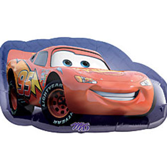 Mylar Oversized Character-Lightning McQueen