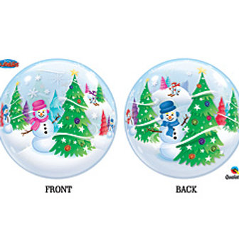 22inch Christmas Bubbles Balloon