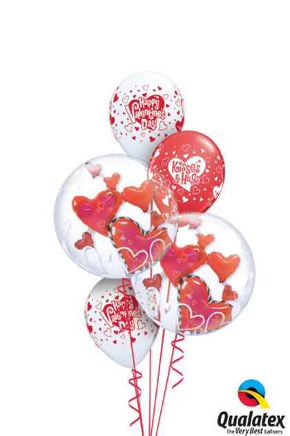 Valentine Bubbles Bouquet