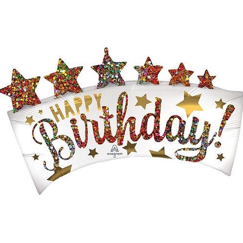Happy Birthday Supershape