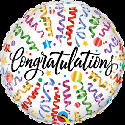 18inch Mylar Congratulation
