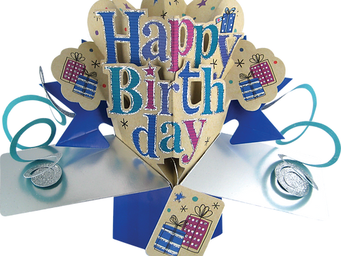 3D POP Card Balloon Bouquet