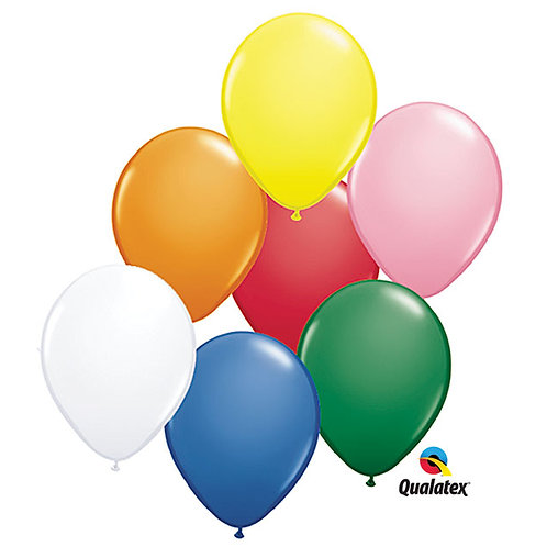 11 Assorted Latex Balloons