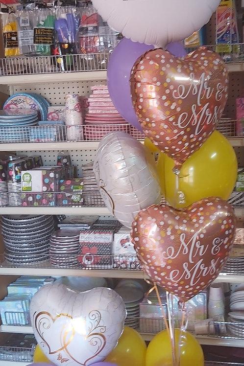 Photo balloon Anniversary Bouquet