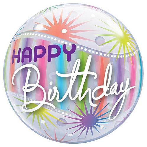 Bubble Birthday Balloon
