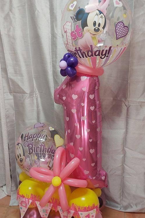 Baby 1st Birthday Arrangement