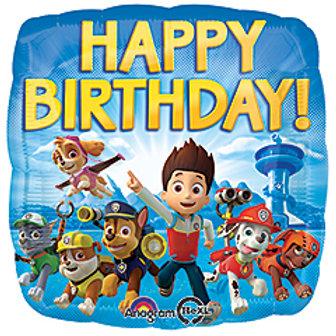 18inch Paw Patrol Happy Birthday
