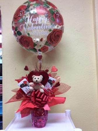 Valentine CandyVase