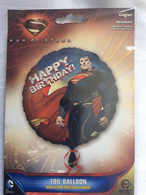 'Superman Happy Birthday' Mylar Balloon