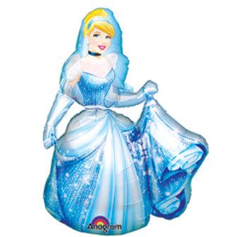 Mylar Oversized Characters-Cinderella