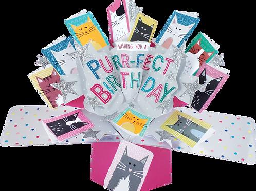 3D POPUP Birthday Card Bouquet
