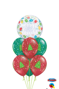 Christmas Balloon Arrangement