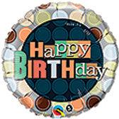 'Happy Birthday' Mylar Balloon